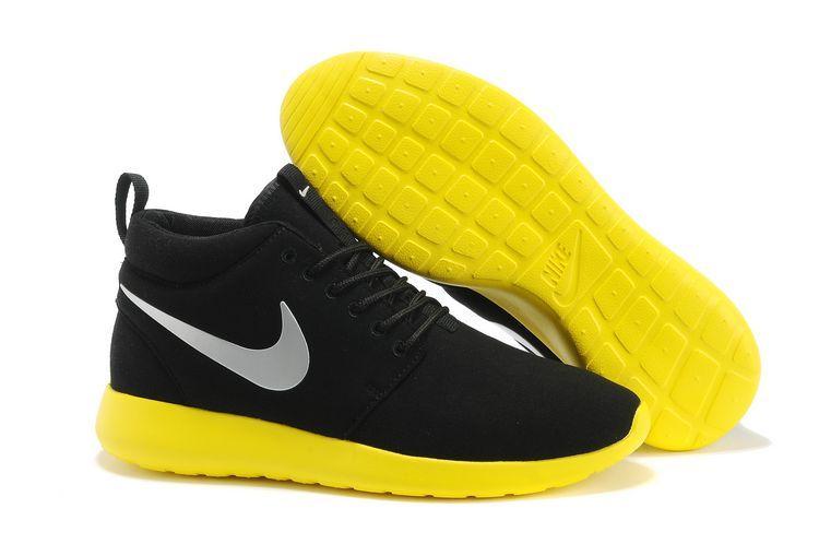 Nike Roshe Run High Femme Achat Vente Nike rosh run rouge