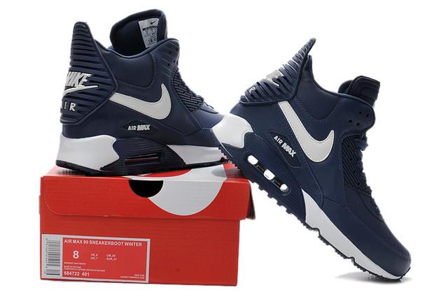 acheter en ligne 5fc2a 0d97c Nike Air Max 90 High Homme Chausport: Baskets mode ...
